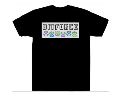 Bitforce Flower Shirt (Self Titled Album) Pre-Order main photo
