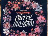Cherry Blossom Black T-Shirt photo