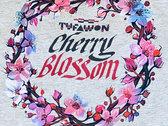 Cherry Blossom Grey T-Shirt photo