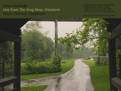 Cloud Nothings live from The Grog Shop, Cleveland main photo
