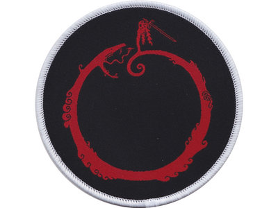 "Red Era1 Ouroboros 3.5"" Patch main photo"
