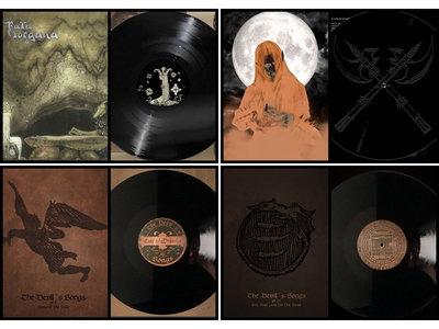 Fata Morgana - Cintecele Diavolui - Blood and Thunder LP Bundle main photo