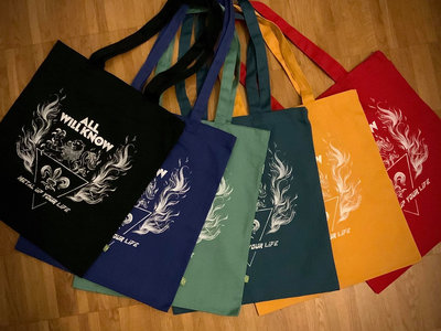 """ALL WILL KNOW - Metal Up Your Life - Tote Bag """"Earth Aware"""" main photo"""