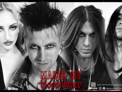 Makes My Blood Dance Band Poster - Limited Collectors Edition main photo