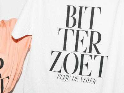 T-Shirt BITTERZOET (white) main photo