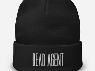 Dead Agent Logo Embroidered Beanie main photo