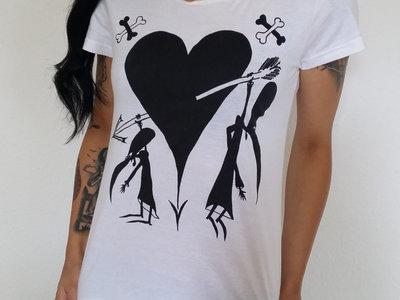 Les Tétines Noires T-Shirt Enfants Groins + Button main photo