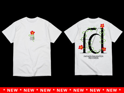 White F/D Flower Tee (FW2021 Collection) main photo