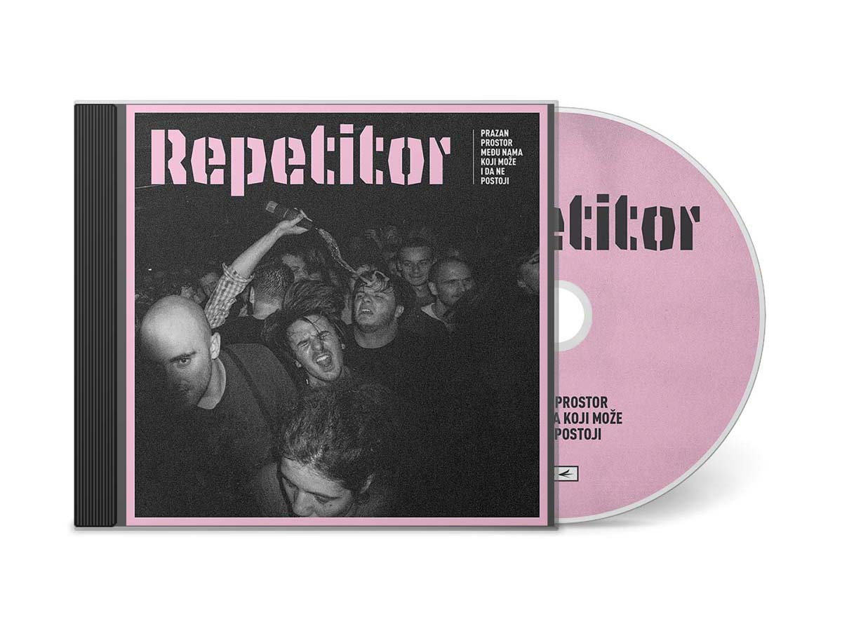 REPETITOR - Prazan prostor među nama koji može i da ne postoji - CD