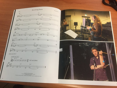 Limited Edition sheet music book w/ digital download main photo