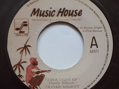 "FRANKIE WILMOTT - I WON'T GIVE UP (Music House 7"") Coloured Vinyl main photo"