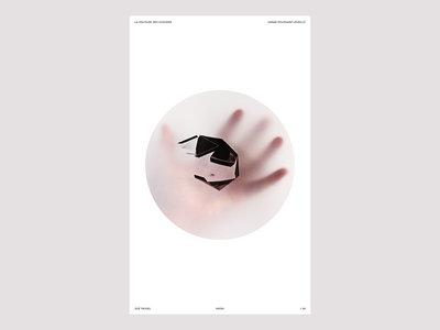 """Affiche/Print """"HAÏKU"""" par Zoé Fauvel main photo"""