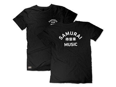 Samurai Music - Arc Logo T Shirt (Black) main photo
