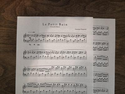 """Le Petit Bain"" Piano Sheet main photo"