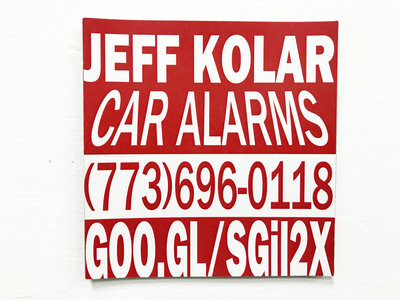 Car Alarms - Limited Edition Magnet main photo