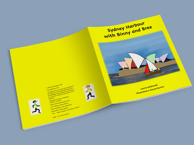 Sydney Harbour with Binny and Bree (Kids Book) main photo