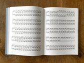 'Esja' Sheet Music Book (incl. Esja album download) photo