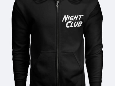 Night Club Zip Up Hoodie main photo