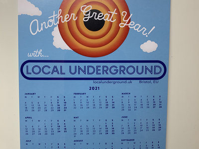 The Local Underground 2021 Yearplanner main photo
