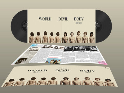 BRINCOS - World Devil Body / Mundo Demonio Carne · 2LP main photo