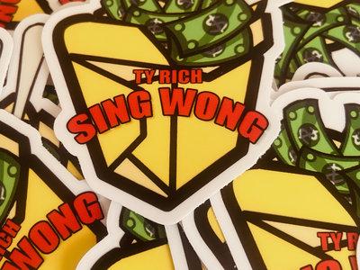 """SING WONG """"MONEY BOX"""" STICKER main photo"""