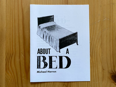About A Bed - Zine main photo