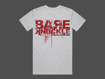 T-shirt Bare Knuckle Logo White main photo