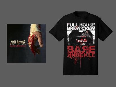 CD & T-shirt Bare Knuckle Broken Teeth Black main photo