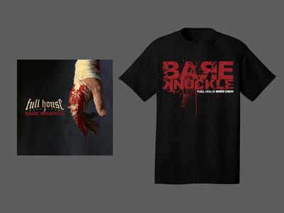 CD & T-shirt Bare Knuckle Logo Black main photo