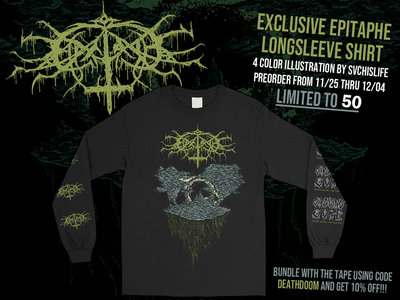 """EPITAPHE """"I"""" Exclusive Longsleeve Shirt main photo"""