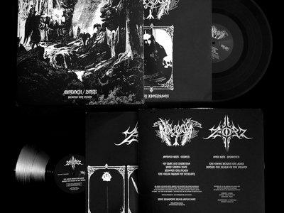 "Moloch / Zorr ""Behold! Thy Death!"" split 12'LP vinyl main photo"