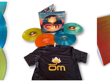 """4 x 12"""" Limited Edition Collectors 180 Gram Colored Vinyl Format (HOLIDAY SPECIAL, FREE T-SHIRT WITH YOUR ORDER) main photo"""