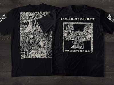 Welcome to the Orgy shirt design main photo