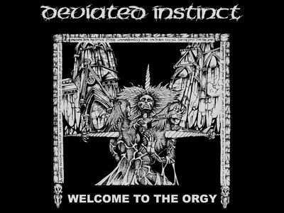 Welcome to the Orgy cover back patch main photo