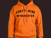 Forty Nine Safety Orange Hoodie photo