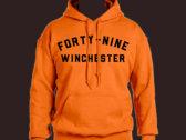 Forty Nine Safety Orange Hoodie photo