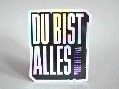 DU BIST ALLES - Sticker main photo