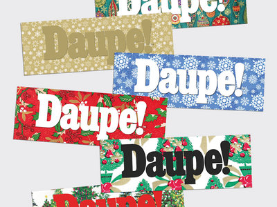 Daupe! CHRISTMAS sticker pack main photo