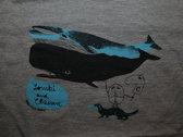 Whale T-Shirts (grey) photo
