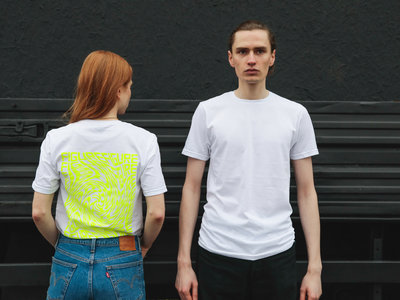 Limited t-shirt 'The Swirl' neon main photo