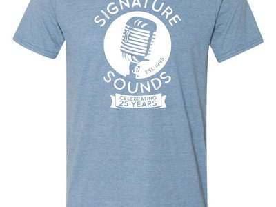 25th Anniversary T-Shirt (Heather Blue) main photo