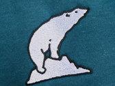 Grauzone - Eisbär Hoodie (Embroidered Logo) photo