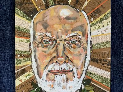 Ram Dass Premium Art Print - LARGE main photo