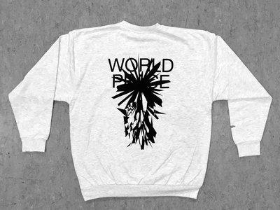 World Peace Sweatshirt (Mottled Light Grey) main photo