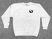 World Peace Sweatshirt (Mottled Light Grey) photo