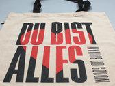 DU BIST ALLES - Beutel photo