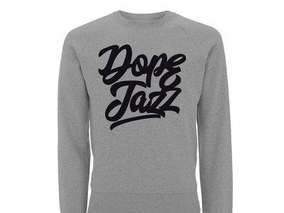 DOPE JAZZ SCRIPT Sweater (Grey Marl) main photo