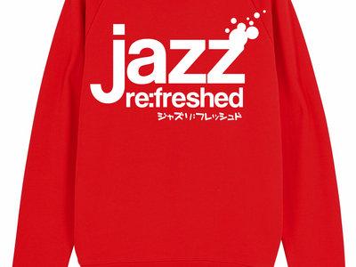 JRF LOGO SWEATER // RED main photo