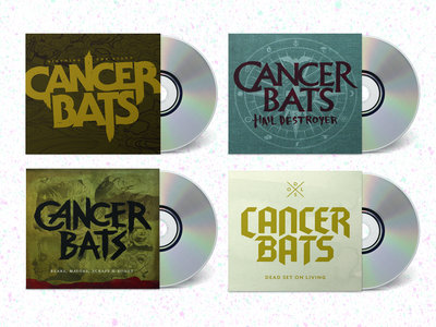 **CANCER BATS CD BUNDLE ** main photo