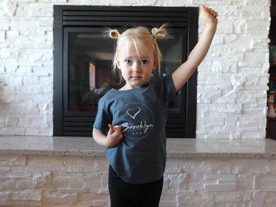 Premium Organic Toddler Shirt (Blue) main photo